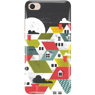 Vivo Y55s Printed Back Cover By CareFone
