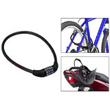 4 Digit Combination Metal Number Bike Bag Lock Big Size