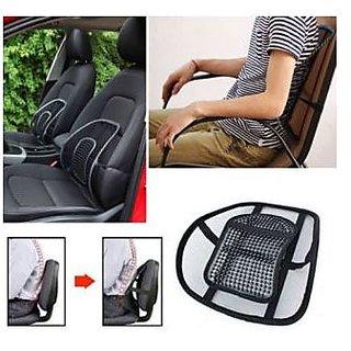 Kudos Car Back Seat Massage Chair Lumbar Back Support Cushion hd soft comfy