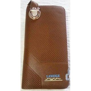 Leather look wallet Clutch