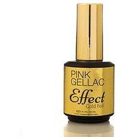 Pink Gellac Gold Foil Effect European Soak-Off UV / LED Gel Polish (15ml / 0.5 fl oz)