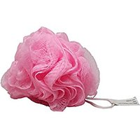 High Quality Mesh Bath Puff Sponge, Pink