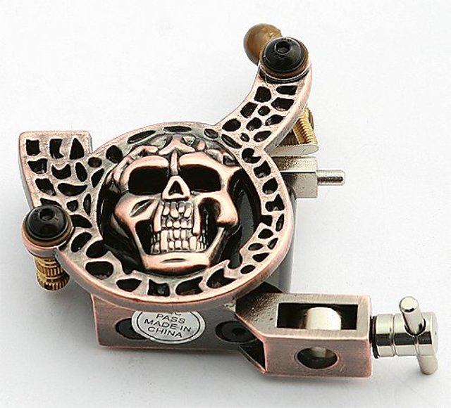 Buy Tattoo Machine Tattoo Gun 10 Coil Wrap Tattoo Machine By Fancier ...