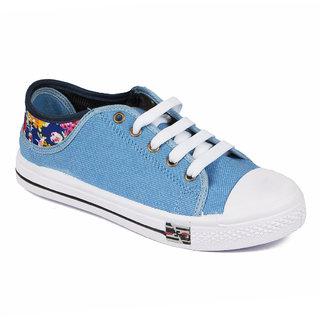 Asian Women's Sky Blue Sneakers