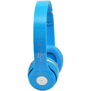 TacGears TG-BTHB-S460-Blue Wireless Bluetooth Headset With Mic-Blue