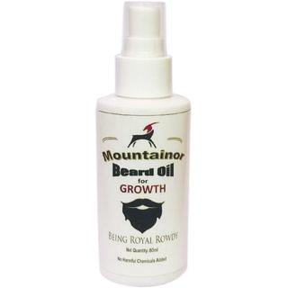 Mountainor beard, mustache and hair growth oil, 80ml