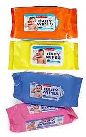 Baby Wipes 80 pcs each (Pack of 4)