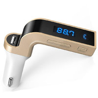 Bluetooth FM Transmitter Hi-Fi Stereo Sound Hands Free