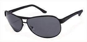 Fastrack M035BK4P Black Polarized Aviator Unisex Sunglasses