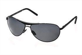Fastrack M062BK1P Black Polarized Aviator Unisex Sunglasses