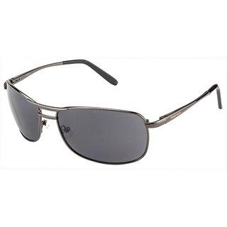 Fastrack Black UV Protection Rectangular Unisex Sunglasses