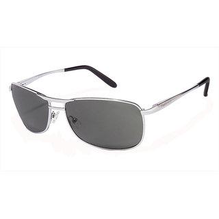 Fastrack Green UV Protection Rectangular Unisex Sunglasses