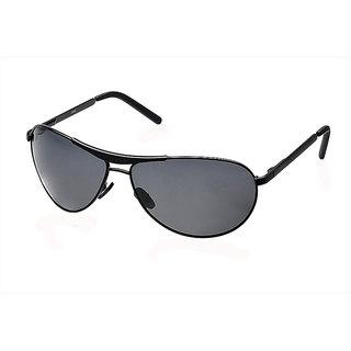 7ef4ef3bee Buy Fastrack Black Polarized Aviator Unisex Sunglasses Online - Get ...