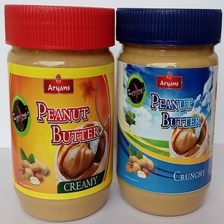 Crunchy peanut butter combo