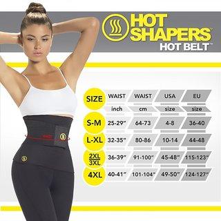 Dealsnbuy Black  Yellow Neoprene Tummy Tucker Shapewear For Women