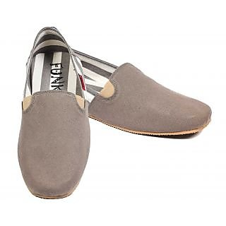 Funk Men's Beige Slip On Canvas