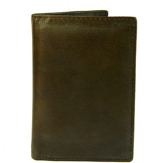 Premium Leather Credit Card Holder  Brown Color