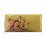 24 Kt Gold Foiled Envelope Radha Krishna Pack Of 5 Pcs