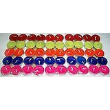 Pack Of 40 Colour Tealight T-lite Tea Light Candles For Diwali Birthday Party