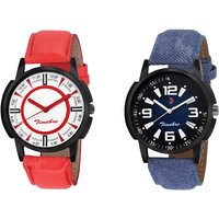 Timebre Men Royal Turquoise Cherry Casual Analog Watch-