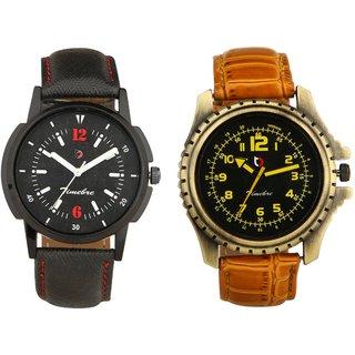 Timebre Men Royal Black Hunk Casual Analog Watch-378