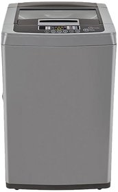 LG 6.5 Kg T7567TEDLH Fully Automatic Top Load Washing Machine - Silver