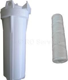 RO  Pre-Filter bowel+1/4Connector 2 nos + Threaded 10'' Pre Filter cartridge