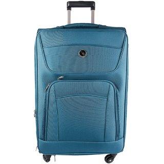 Emblem Luggage Sigma 55cm Sky Blue Trolley Strolley Wheel Bag Suitcase  Check In Luggage Duffle Bag d95c8de236b98