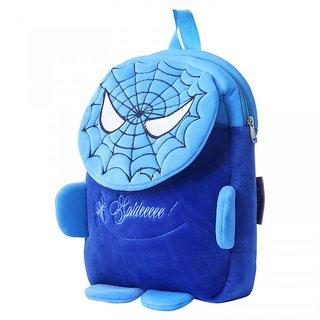 SureDeal Soft Spider Man Cute Soft Toy School Bag For Kids