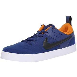 Buy NIKE MEN S LITEFORCE III BLUE BLACK AND ORANGE SNEAKERS(669593-403)  Online   ₹2995 from ShopClues d4e98fccd