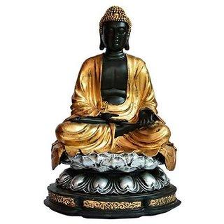 Madhuri handicraft Brass Statue of Buddha