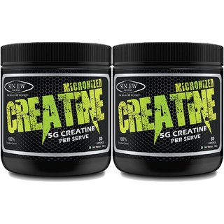 Sinew Nutrition Micronized Creatine Monohydrate 300gm / 0.66 lb - Unflavoured (Pack of 2)