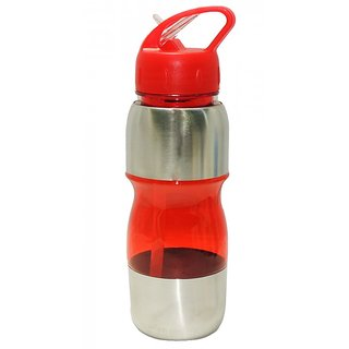 49fdd8ed725 Buy 6th Dimensions 650 ML Stainless Steel Water Bottle Wth Sipper for Gym