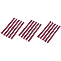 15 X Tubeless Tyre Puncture Repair Strips / Plugs For Car / Bike Use With Kit