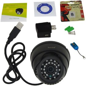Dome Camera with memory card slot