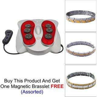 Multifunction Foot Kneading Massager  with Brasclet(Assorted) as freebie