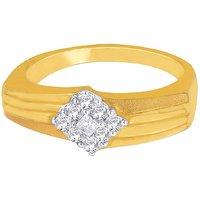 Nakshtra 18K Yellow Gold Ring NRC161VS-GH