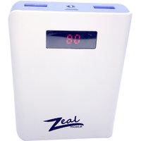 Zeal -Z 10  10400 mAh DIGITAL POWER BANK BLUE