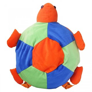SureDeal Soft Tortoise Cute Soft Toy School Bag For Kids