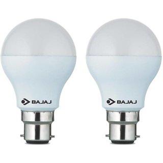 bajaj 5 w b22 led bulb white pack of 2