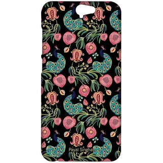 Payal Singhal Anaar And Mor Black - Sublime Case For HTC One A9