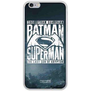 Gotham Vs Krypton Blue - Jello Case For IPhone 6 Plus