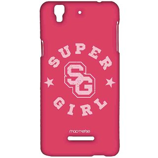 Super Girl - Sublime Case For YU Yureka Plus