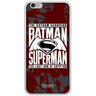 Gotham Vs Krypton Red - Jello Case For IPhone 6 Plus
