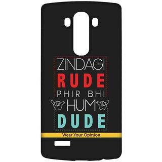 Zindagi Rude - Sublime Case For LG G4