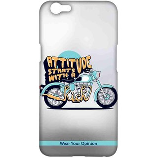 Attitude With Kick - Sublime Case For Oppo F1s