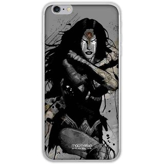 Sketched Wonder Woman - Jello Case For IPhone 6 Plus