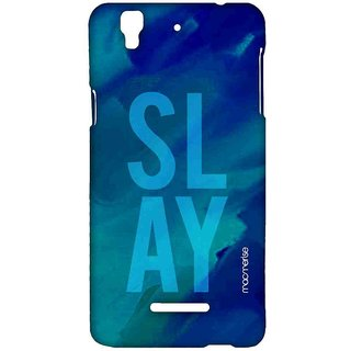 Slay Blue - Sublime Case For YU Yureka Plus