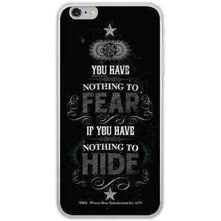 Nothing To Hide  - Jello Case For IPhone 6 Plus