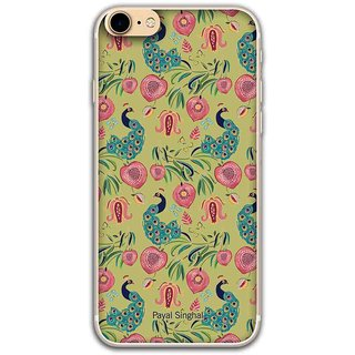 Payal Singhal Anaar And Mor Olive - Jello Case For IPhone 6